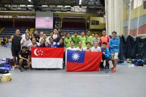 SG + Taiwan Team